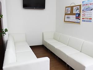 グランデ接骨院の待合室
