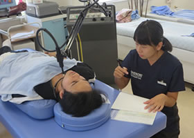 グランデ接骨院では専門機関東海初導入