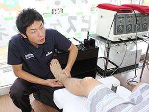鈴鹿市 グランデ接骨院のスポーツ障害の治療