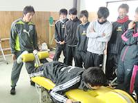 鈴鹿市 グランデ接骨院のしないための体作り、スポーツ前後のストレッチ等も指導します